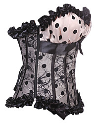 Darling Clothes Women's  Sexy Polka Dots Corset