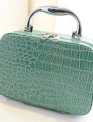 Fashion Crocodile Pattern Beauty Bag