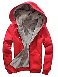 Herren Freizeit Activewear Sets - Einfarbig Lang Baumwollmischung