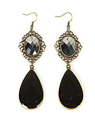 Drop Earrings Gemstone Crystal Alloy Drop Jewelry Daily Casual 1 pair