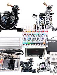 Complète de tatouage Starter Kit 2 Guns Alimentation Set