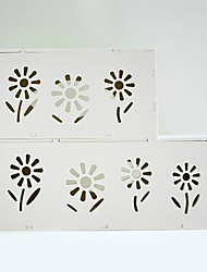 Modern White Plastic Storage Box For Electric Wire