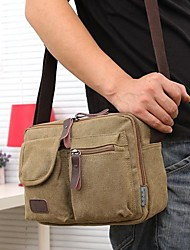Fashion Men Women Canvas Messenger Shoulder Bag