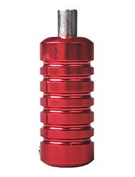 Aleación de aluminio de la máquina del tatuaje Grip Tubos Red