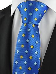Nouveau motif de vérification Marine Or Classique Homme Lien formel cravate Souvenirs