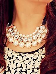 couple doux imitation blanc perle (1 pc)