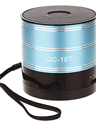 QC-18T Mini Rounded Speaker with TF Port/SD Port/FM Radio
