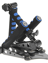 DSLR Rig Original Movie Kit Shoulder Mount for Any DV Camera Canon/Sony/Nikon/Panasonic (Blue)