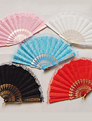 Delicate Lacelike Hand Fan (More Colors)