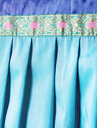 "Mittelmeer Classic Blue Solide Stitching Valance (16 ""L × 39"" W)"