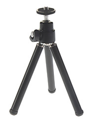 Flexible Metal head Mini Tripod for Digital Cameras