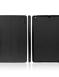Enkay Quatro dobrar Auto dormir e acordar inteligente Caso PU de couro com suporte para iPad ar (cores sortidas)