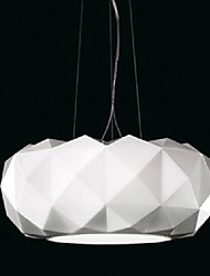 40W Pendant Light ,  Modern/Contemporary Electroplated Feature for Mini Style Metal Bedroom / Dining Room