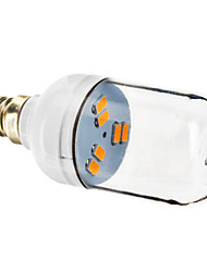 Spot LED Blanc Chaud E12 6 SMD 5730 70-90 LM AC 100-240 V