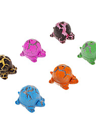 6 Stück Colorful Sea Turtle Shaped Wachsende Toy