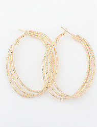Drop Earrings Hoop Earrings Alloy Vintage Victorian Gold Silver Jewelry 2pcs