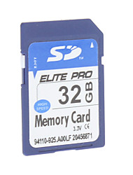 32GB Hi-speed Elite Pro SD Memory Card for Media Player Camera