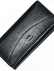 Mega Leather Women Hand Purse (Black)