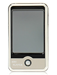 Portable Mp4 Player Support TF card con fotocamera digitale FM 8GB