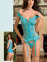 Prinzessin Style Sky Blue Lace Damen Dessous Sexy Uniform