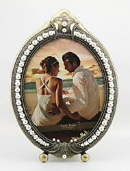 "9.75""H Retro Style Metal Picture Frame"
