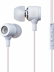 PLEXTONE X37M 3.5mm in-ear oortelefoon voor iPhone 5/5S 4/iPhone
