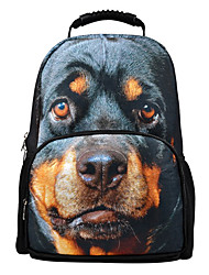 German Shepherd Dog Image Camping Hiking Bagpack