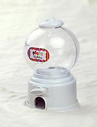 Music Box Shaped Candy Machine/Money Pot with Ribbon