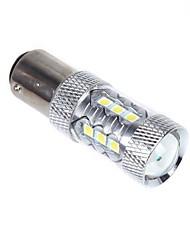 80w 1157 BAY15D 16 * cauda do carro conduzido parar de freio lâmpada lâmpada