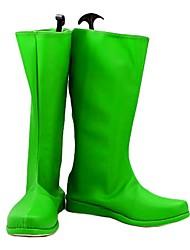 Green Lantern Cosplay Boots