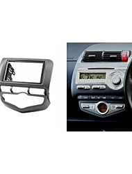Kit para instalação de rádio Fascia Facia guarnição para HONDA Fit Jazz 2002-2008 Auto Ar Condicionado Roda Certa