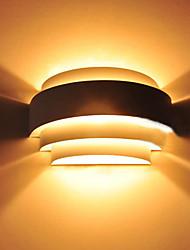 luz da parede, uma luz, moderno polimento de metal anodizado