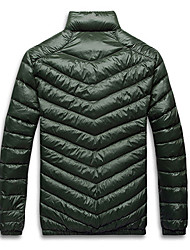 Outdoor Men's Tops / Winter Jacket Leisure Sports / Snowsports Wearable / Windproof / Thermal / Warm Winter Green / Red / Coffee / BlackM