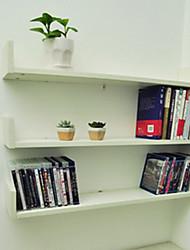 Set of 3 Modern Stylish White Solid Storage Shelves