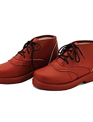 Chaussures de Cosplay Cosplay Cosplay Anime Chaussures de cosplay Rouge Cuir PU Féminin