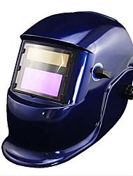 Blue Li Battery Solar Auto Darkening Welding Helmet