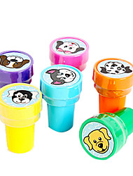 Dog Cartoon modello Toy Seal Set (6 PCS)