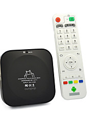Ourspop U72 Quad-Core Android 4.2.2 Google TV Player 2 Go de RAM 8 Go ROM Wi-Fi HDMI TF