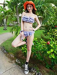 Mulheres Sexy Strapless Triângulo Bikini