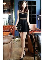 Women's Dresses , Knitwear/Mesh Duogelmu