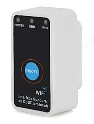 ELM327 auto OBD II Strumenti di diagnostica Scanner Wifi Connect B12 per Iphone, Ipad, PC interruttore android