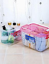 Tasteless Plastic Impact Resistant Storage Box for Food, Medicine, Makeups