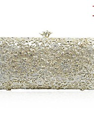 Hand Beaded Rhinestone Clutch Party Bag