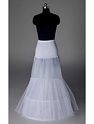 Polyester A-line Slip Floor Length Women Wedding Petticoats
