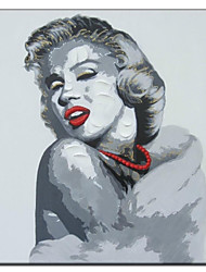 Hand Painted Oil Painting People Forever Marilyn 01