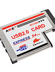 Laptop Express 54mm to 2 Port USB 2.0 Card