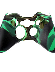 Wireless Controller Silicone Case for Xbox360(Green)