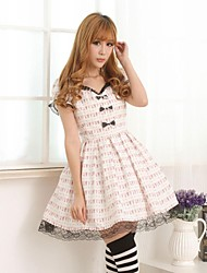 Sweet  Lolita Princess Princess Circus Black   Bow Dress  Lovely Cosplay
