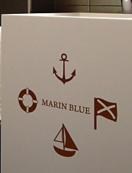 Decorativos de parede Formas Marin Azul Adesivos