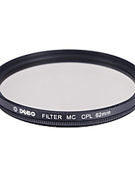 DEBO CPL Filtre pour appareil photo (62mm)